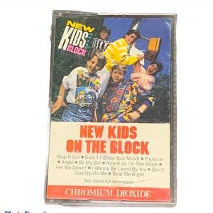 *BOGO Free New Kids on the Block Cassette tape